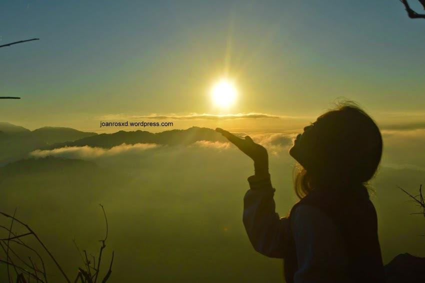 Sunrise at Mt. Kiltepan, Sagada